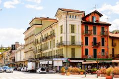 Architecture of Stresa, Italy royalty free stock image