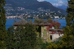 Stresa, jeziorny Maggiore, Włochy Fotografia Stock