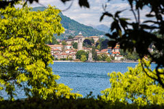 Stresa lake maggiore italy Stock Photography