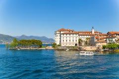 Stresa, Verbania, Italy - April 21, 2017: View of Island Bella, Stock Photo