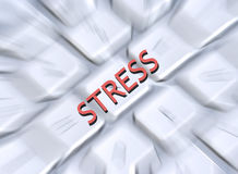 Stress ! Royalty Free Stock Photography