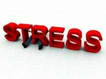 Stress 4 royalty free illustration