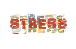 Stress art Royalty Free Stock Images