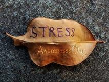 STRESS Awareness Day stock photo
