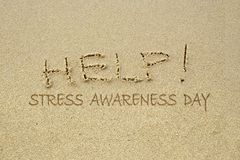 STRESS Awareness Day stock images