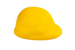 Stress ball in hard hat shape Stock Image