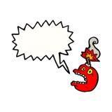 Stress bomb cartoon. Retro cartoon with texture. Isolated on White Stock Images