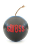 Stress  bomb Royalty Free Stock Image