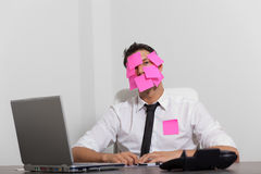 Stress business Royalty Free Stock Photography