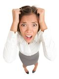 Stress business woman Stock Photos