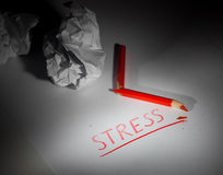 Stress concept Stock Image