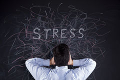 Stress concept Royalty Free Stock Images