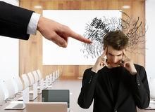 Stress concept Royalty Free Stock Image