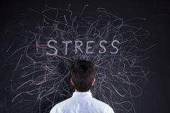Stress concept Stock Photography