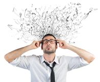 Stress and confusion Stock Photography