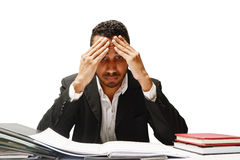 stress and work royalty free stock image