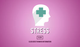 Stress Depression Anxiety Expression Frustration Concept Stock Photos