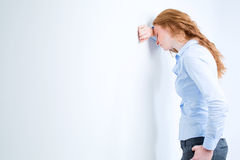 Stress or Failure in Business royalty free stock image