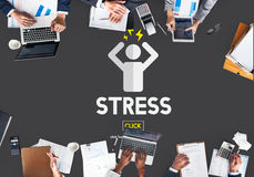 Stress Failure Depression Pressure Panic Concept Stock Photography