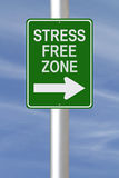 Stress Free Zone stock images
