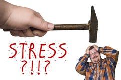 Stress Hammer Royalty Free Stock Photos