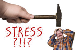 Stress Hammer Royalty Free Stock Photos