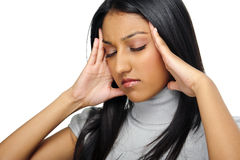 Stress headache Royalty Free Stock Image
