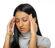 Stress headache Royalty Free Stock Photo