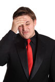 Stress headache Stock Photos