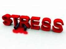 Stress Is Murder Stock Photo