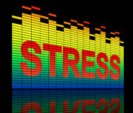 Stress levels concept. Stock Images