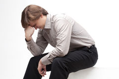 Stress Man Stock Photography