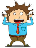 Stress  man Stock Images