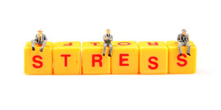 Stress management Stock Photo