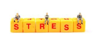 Stress management Stock Photo
