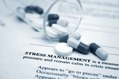 Stress management Royalty Free Stock Photos