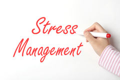 Stress management concept Stock Images