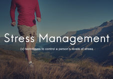 Stress Management Keep Calm Relaxation Calmness Concept Royalty Free Stock Photo