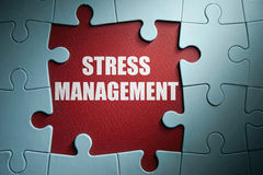 Stress management Stock Image