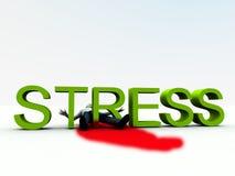 Stress Is Murder 7 stock illustration