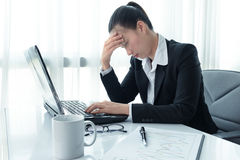 Stress in the office Stock Image