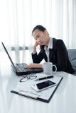 Stress in the office Royalty Free Stock Image