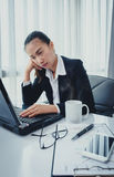 Stress in the office Stock Images