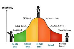 Stress performance curve visual chart. Great quality work. On this picture you can see some high quality and resolution graphic creative ideas concept sticker royalty free illustration