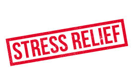 Stress Relief rubber stamp Royalty Free Stock Photos