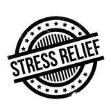 Stress Relief rubber stamp Stock Image
