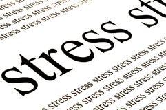 Stress stress stress Royalty Free Stock Image