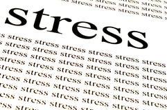 Stress stress stress Stock Image