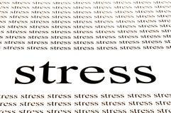 Stress stress stress Stock Photo