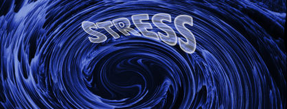 The Stress Vortex. Background Suitable for Custom Content Royalty Free Stock Image